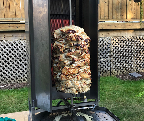 shawarma station catering